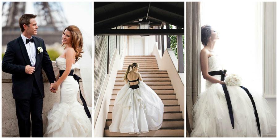 черное свадебное платье 2
