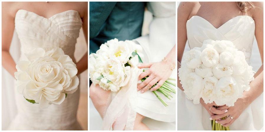 белый букет невесты 1