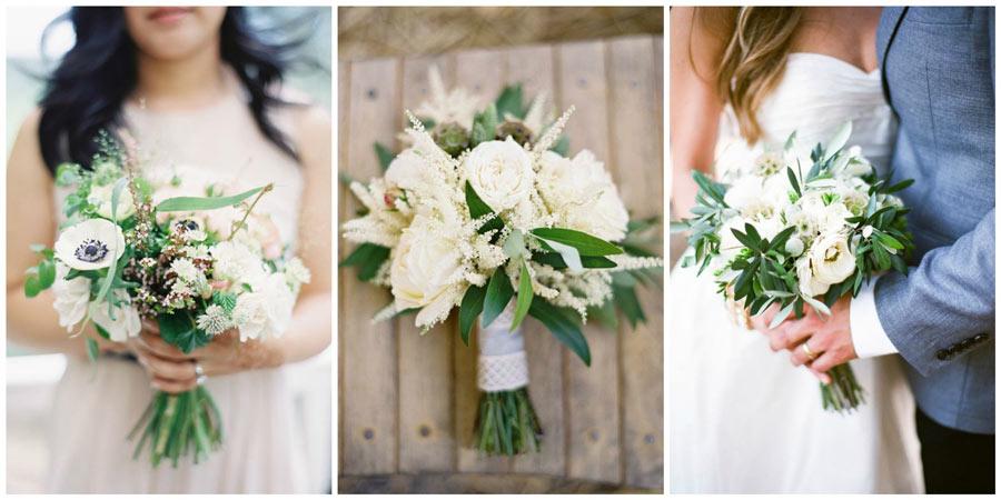 белый букет невесты 2