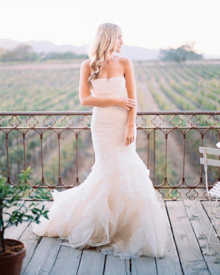 свадебное платье рыбка 2
