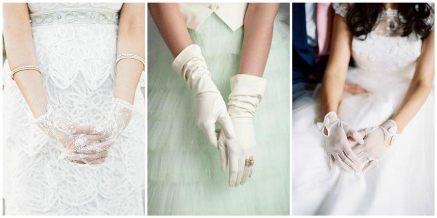 свадебные перчатки 1