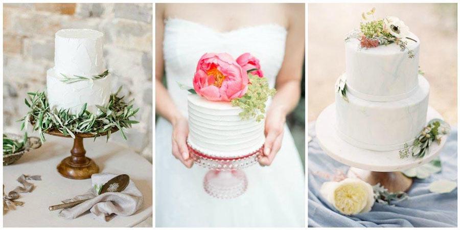 белый свадебный торт 4