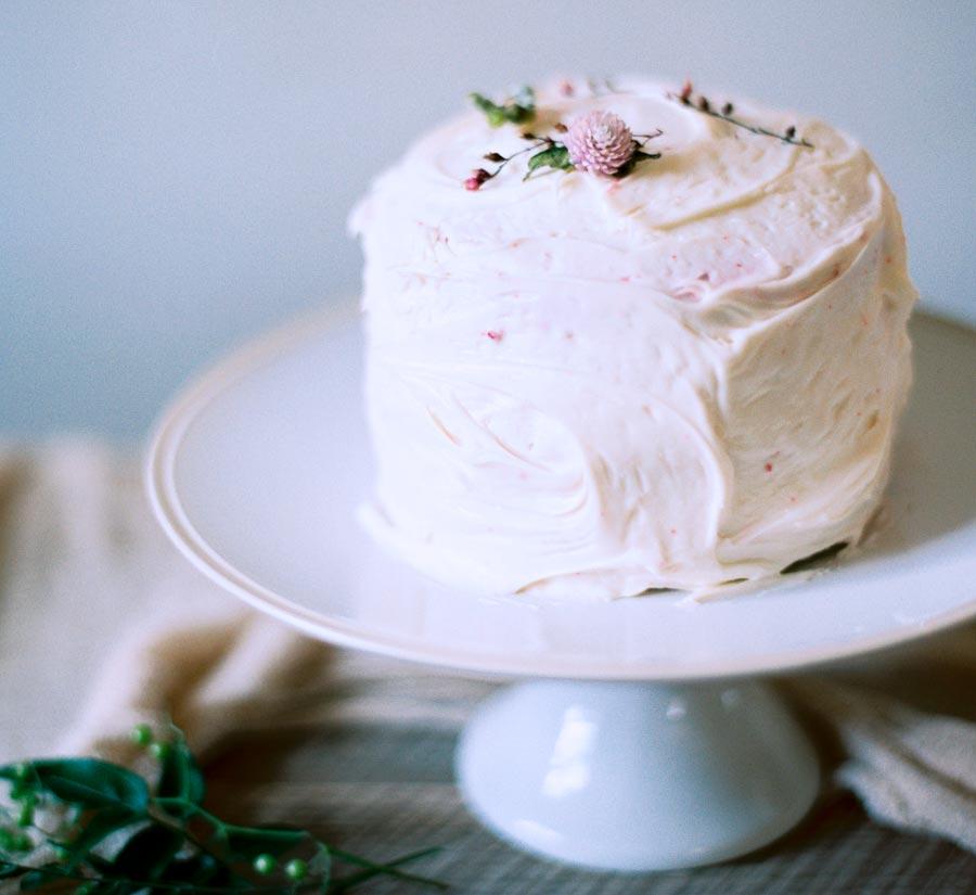 белый свадебный торт 5