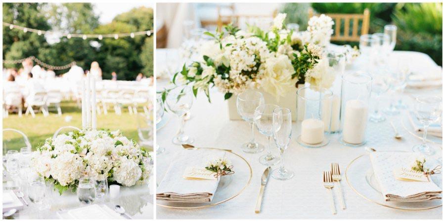 оформление белой свадьбы 7