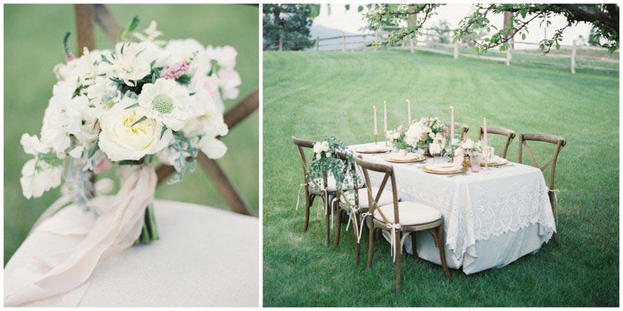 оформление белой свадьбы 8
