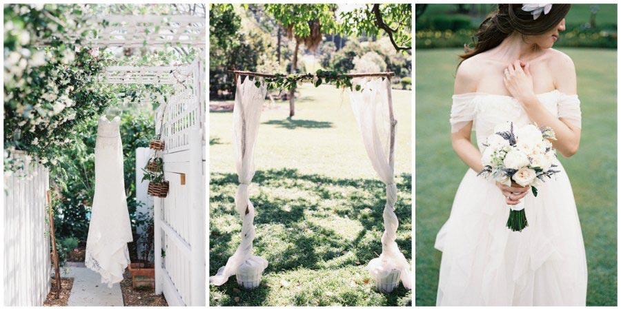 оформление белой свадьбы 9