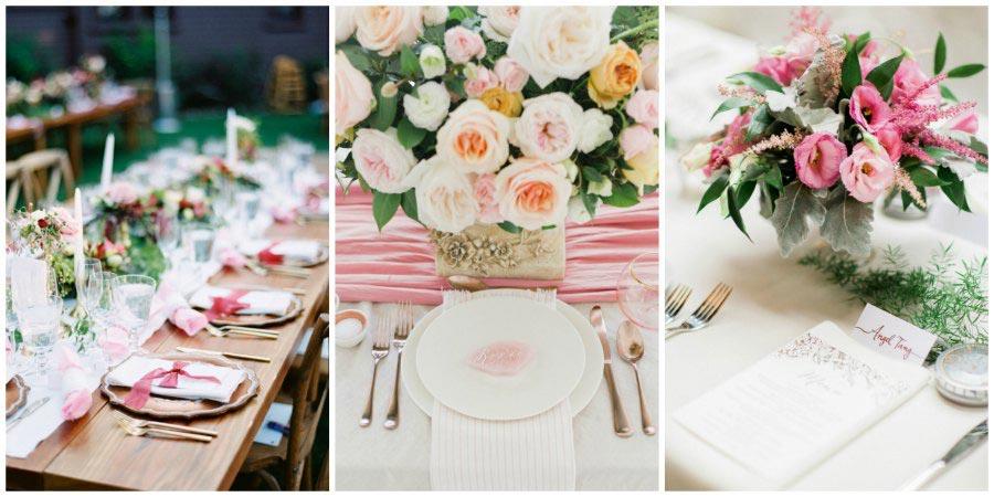 оформление розовой свадьбы 10