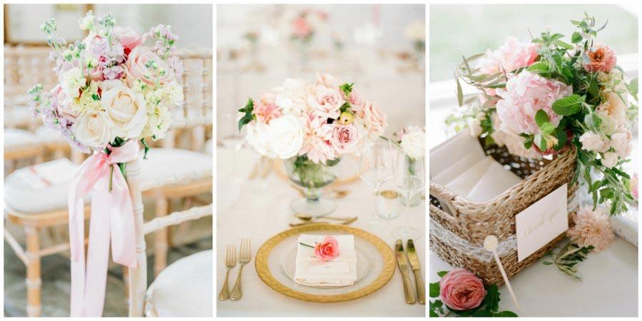оформление розовой свадьбы 11