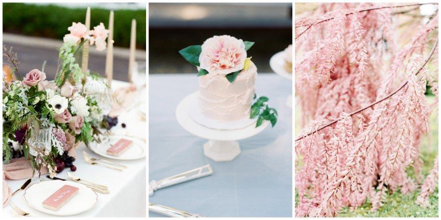 оформление розовой свадьбы 13