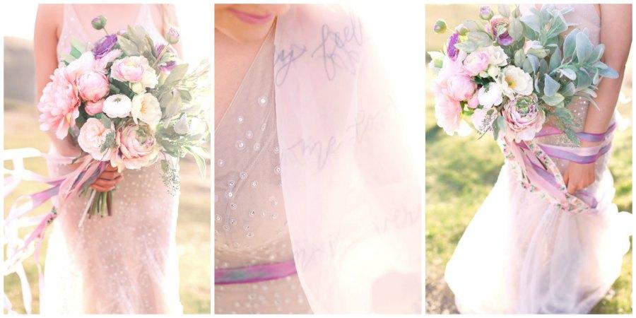 оформление розовой свадьбы 4
