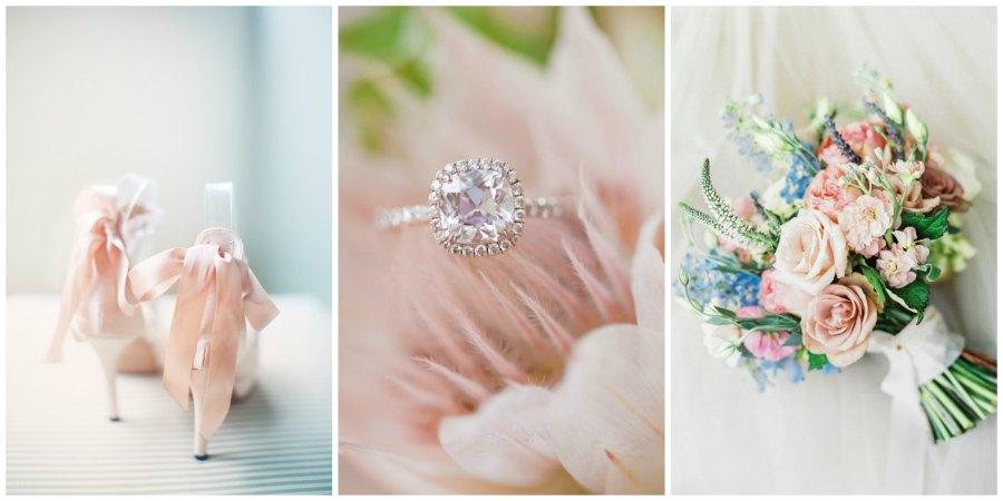 оформление розовой свадьбы 7