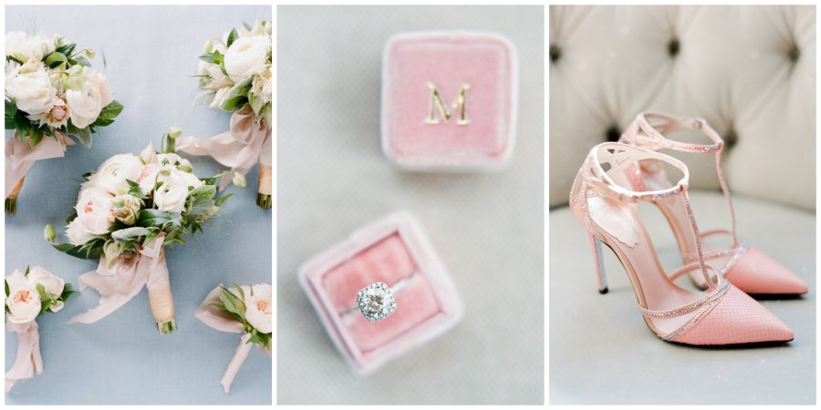 оформление розовой свадьбы 8