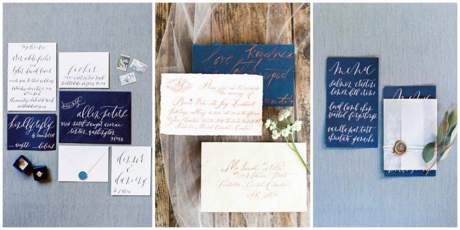 оформление синей свадьбы 12
