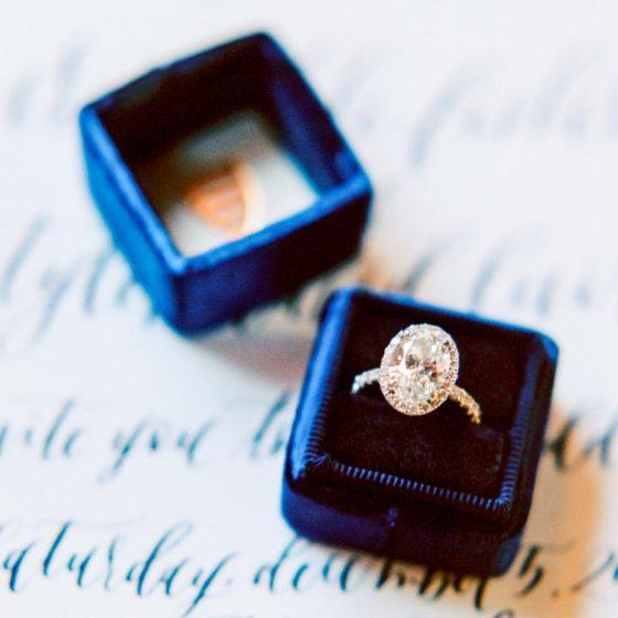 Оформление синей свадьбы