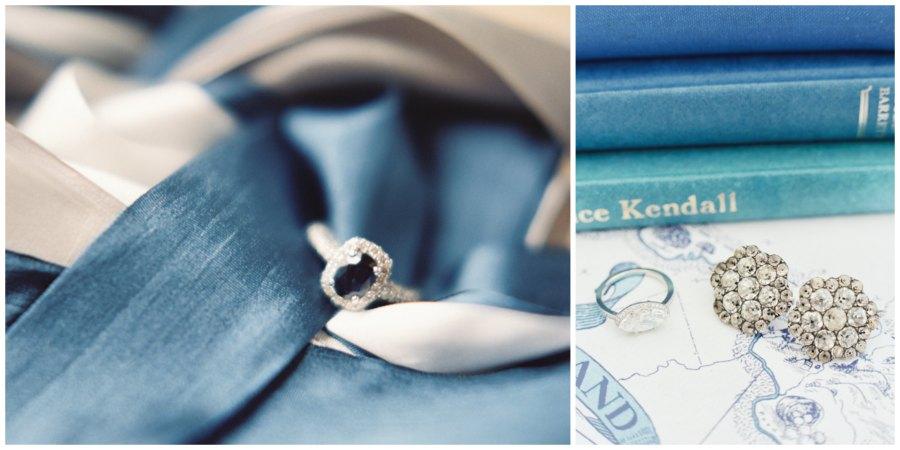 оформление синей свадьбы 2