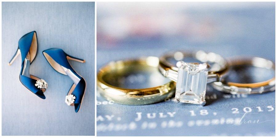 оформление синей свадьбы 5