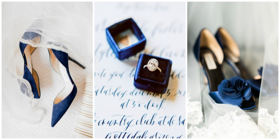 оформление синей свадьбы 6