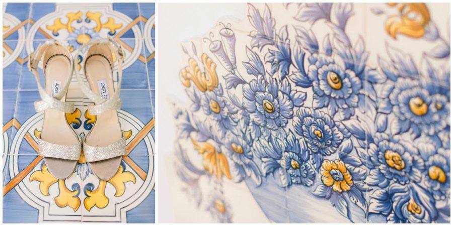 оформление синей свадьбы 7
