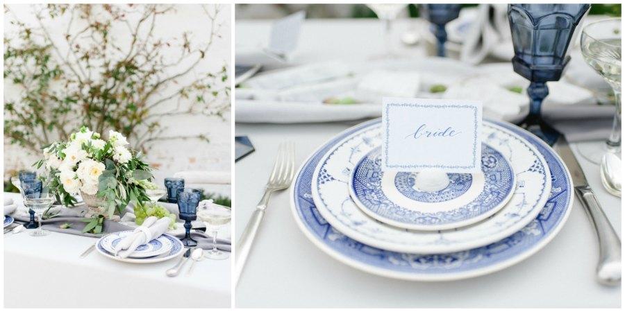 оформление синей свадьбы 8