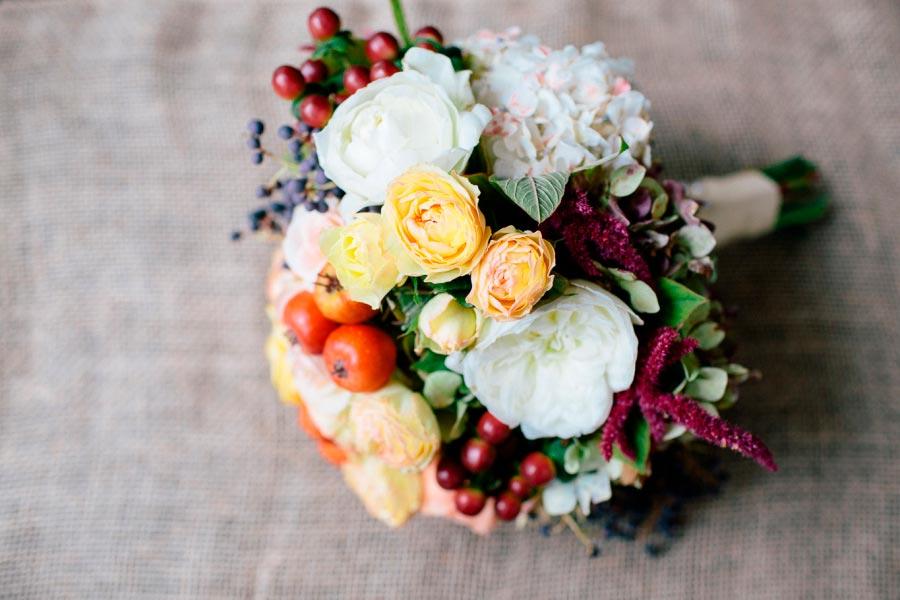 осенний букет невесты 6