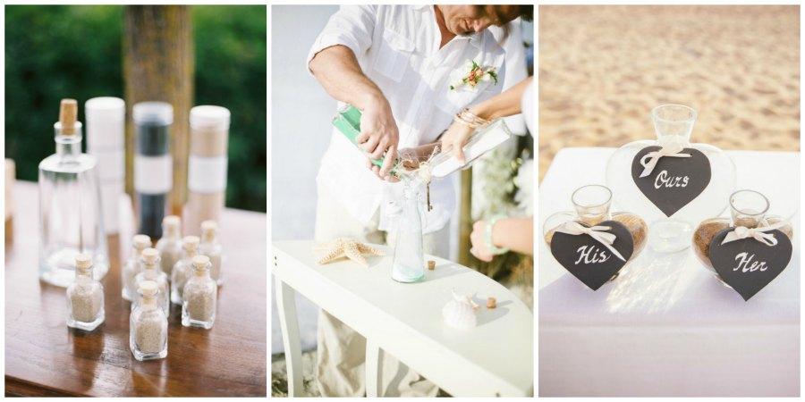 песочная церемония на свадьбе 1