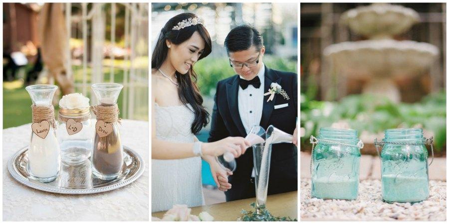 песочная церемония на свадьбе 2