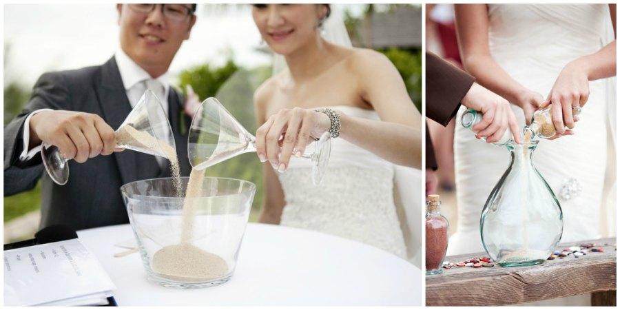 песочная церемония на свадьбе 4