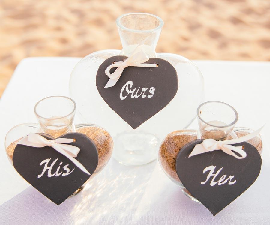 песочная церемония на свадьбе 5