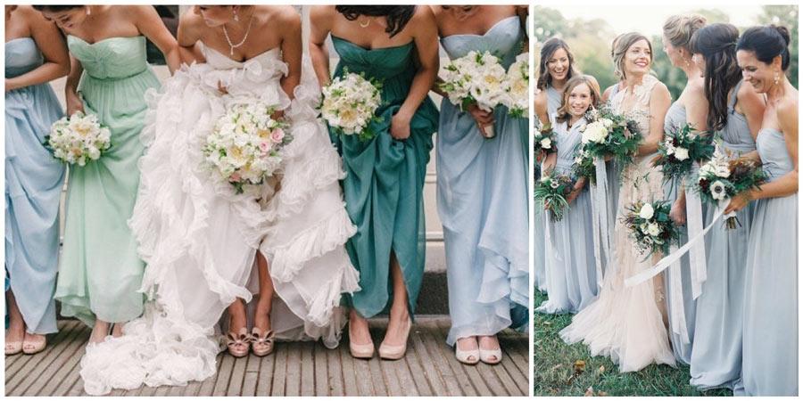 платья подружек невесты 2