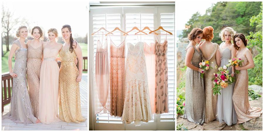 платья подружек невесты 3