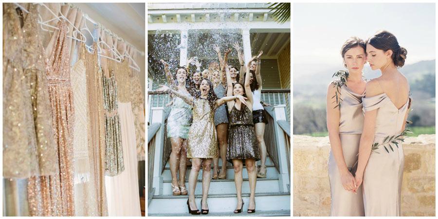 платья подружек невесты 4