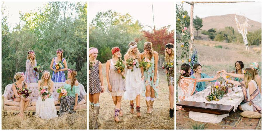 платья подружек невесты 5