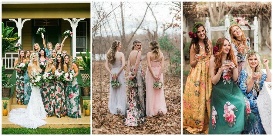 платья подружек невесты 6