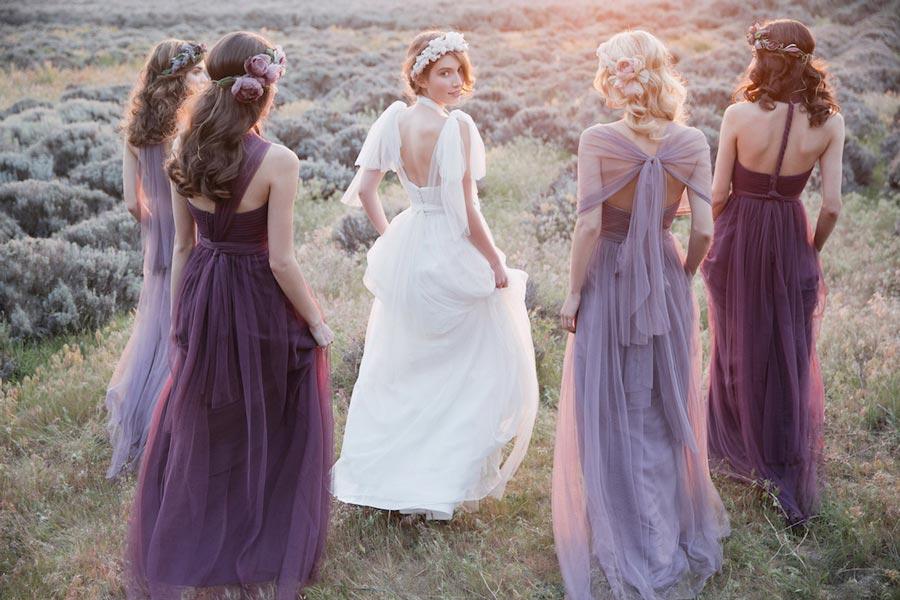 платья подружек невесты 7