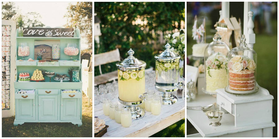 сладкий стол на свадьбу 1