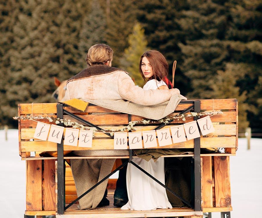 стили зимней свадьбы 9