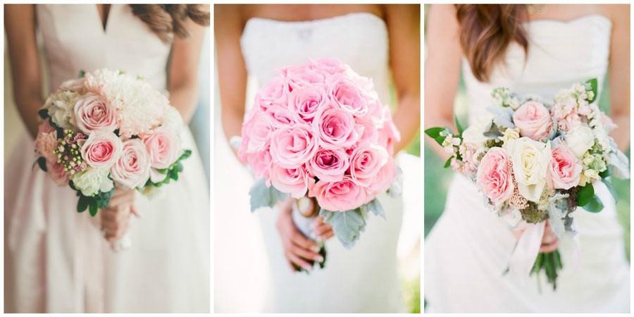 свадебный букет из роз 5