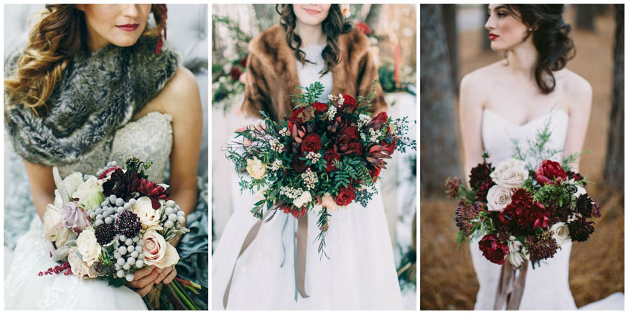 зимний букет невесты 1