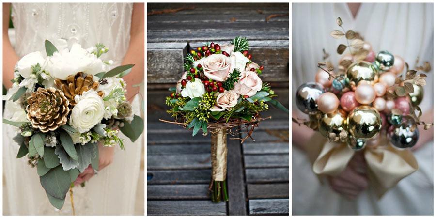 зимний букет невесты 2