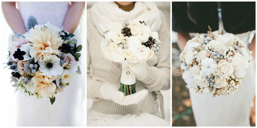 зимний букет невесты 3