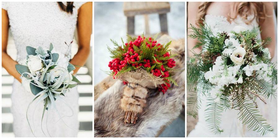зимний букет невесты 4