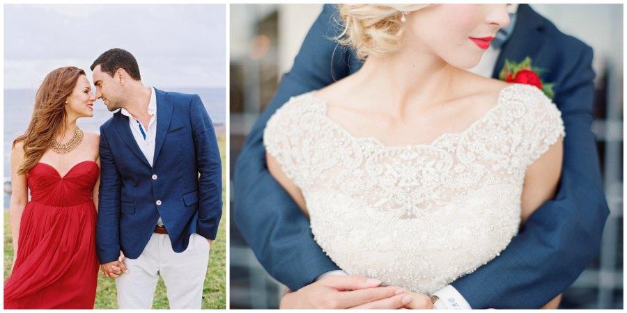 оформление красной свадьбы 1