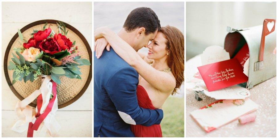 оформление красной свадьбы 10