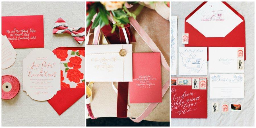 оформление красной свадьбы 11