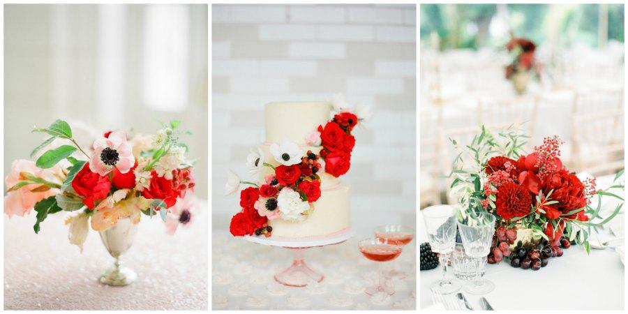 оформление красной свадьбы 4