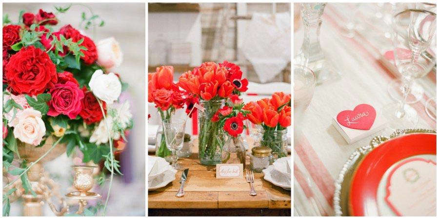 оформление красной свадьбы 5