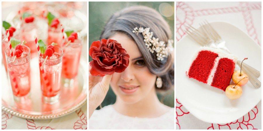 оформление красной свадьбы 6