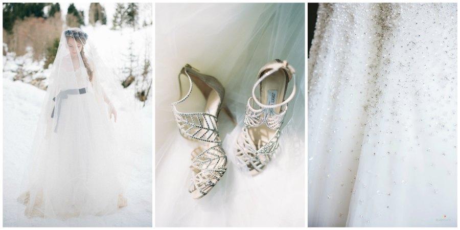 оформление зимней свадьбы 11