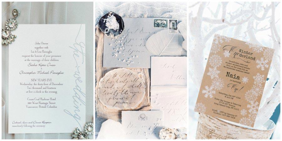 оформление зимней свадьбы 13