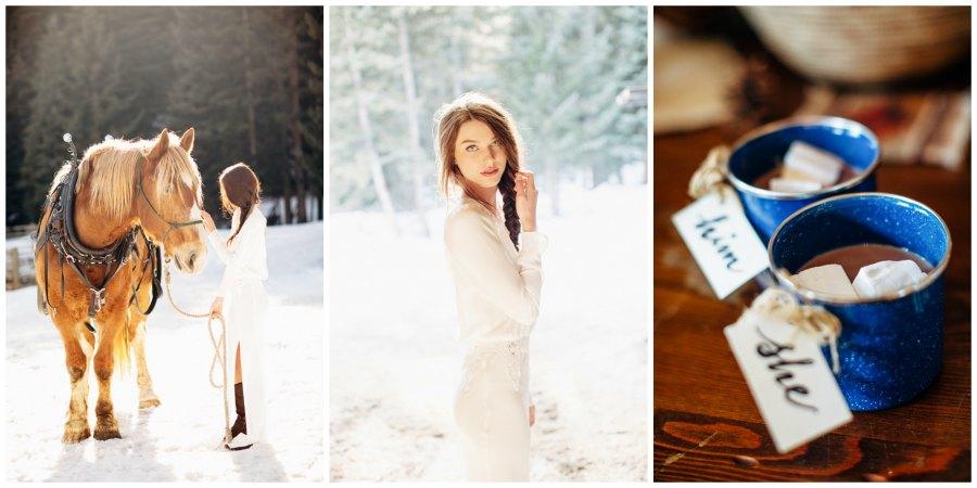 оформление зимней свадьбы 2